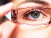 Non-glare lens