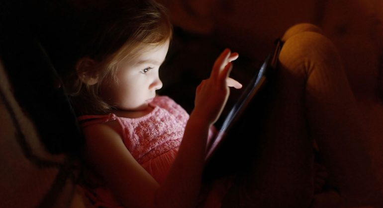 Kids and Computer Vision Syndrome