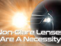 Non Glare Lenses Are a Necessity